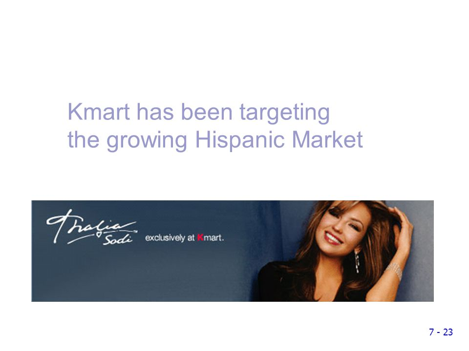 market segmentation on kmart Why did kmart and jcpenney lose their market leadership to wal-mart and target update cancel promoted by 23andme walmart's success in part was driven by supply chain excellence but just as important was their market segmentation stratey to start in the rural areas.