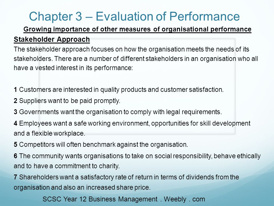 evaluate the different approaches to management used by different organisations