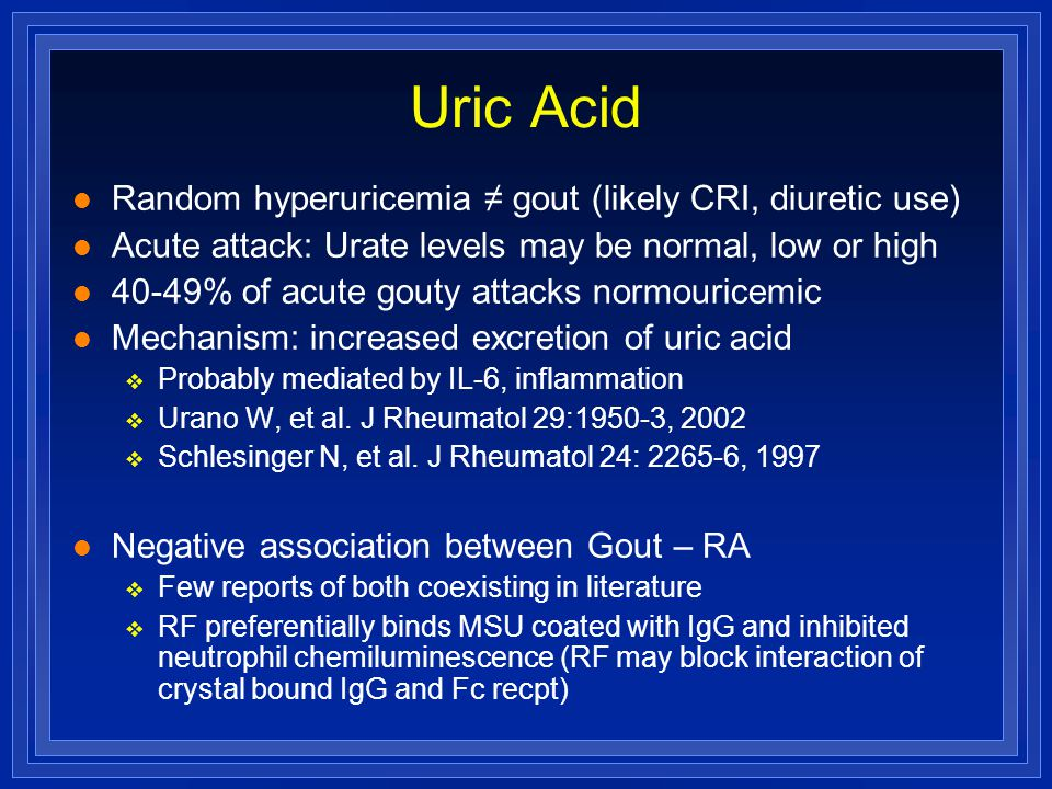 causes of increased production of uric acid what does it mean when uric acid level is high how do you cure gout naturally