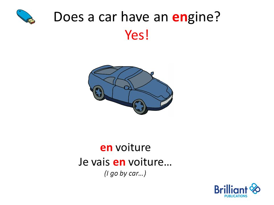 Does a car have an engine Yes!