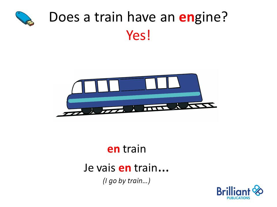 Does a train have an engine Yes!