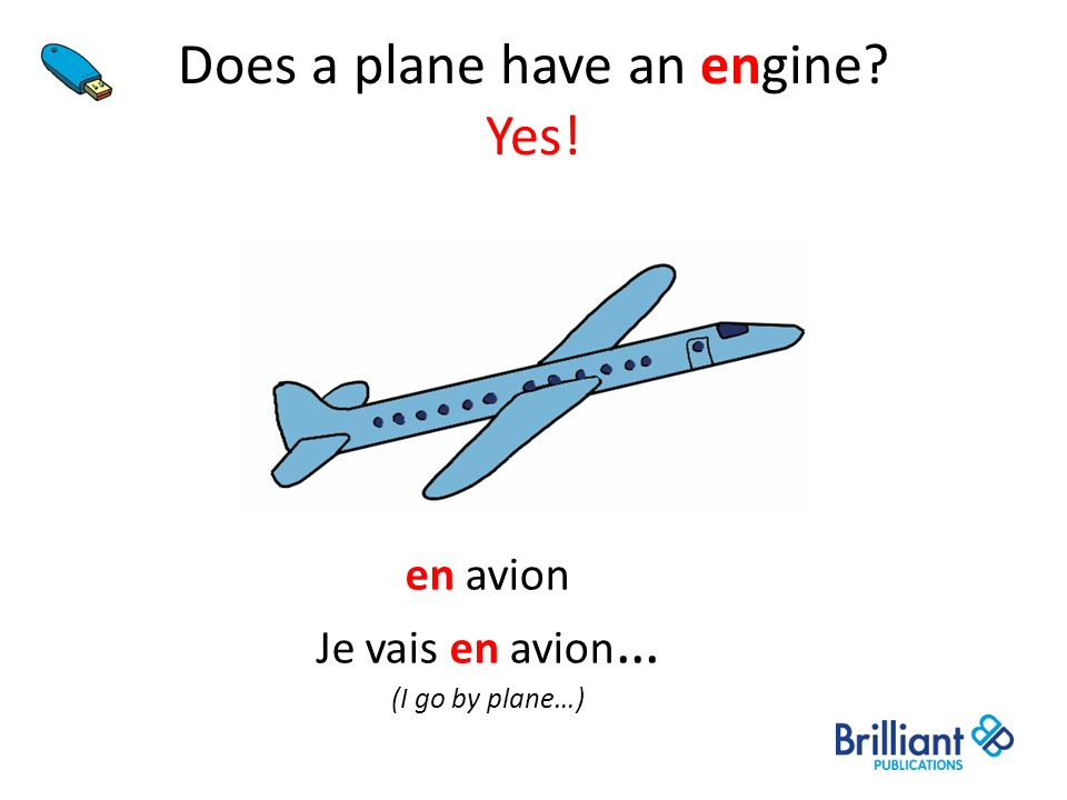 Does a plane have an engine Yes!