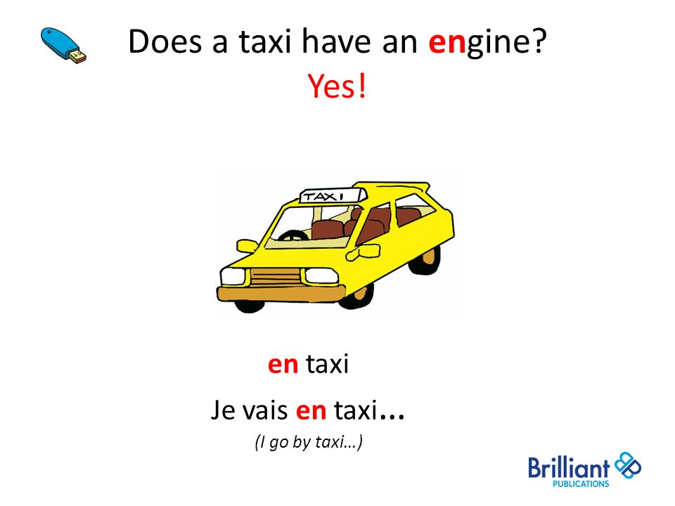 Does a taxi have an engine Yes!
