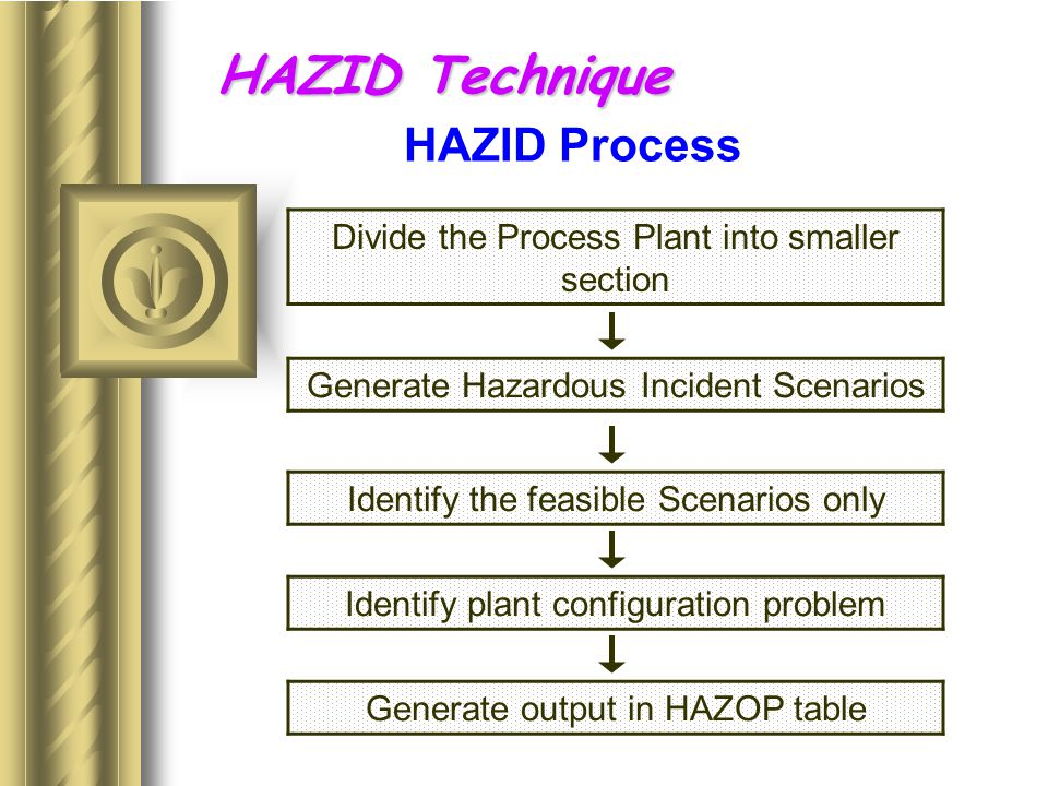 Hazard Assessment And Risk Management Techniques For