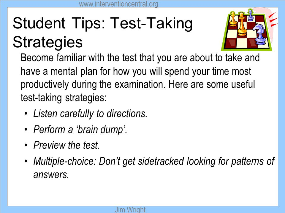 Managing Test Anxiety: Ideas for Students - ppt download