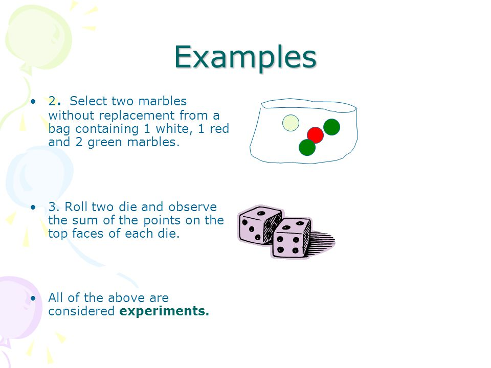Probability Examples With Marbles Definition Of Dependent