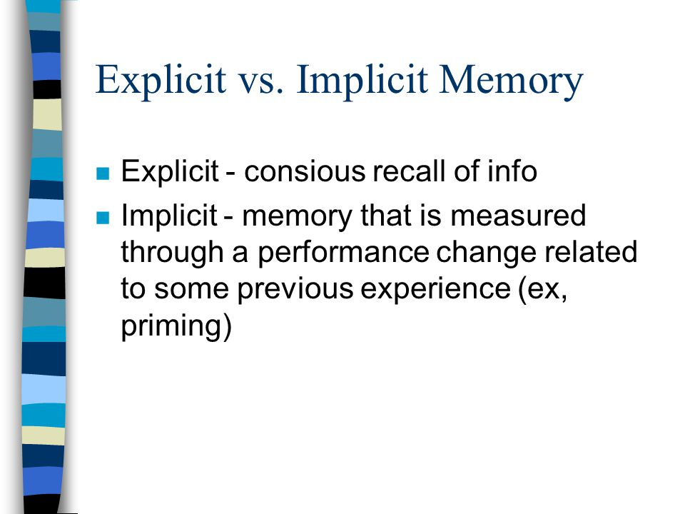 influence of dual task on memory recall performance A number of recent studies have explored the role of long-term memory factors in memory span tasks the effects of lexicality, frequency, imageability, and word class have been investigated the work reported in this paper examined the effect of semantic organization on the recall of short lists of.