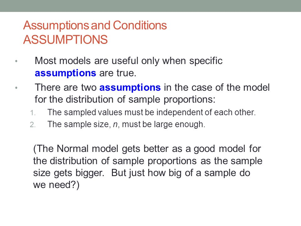 Chapter 18 Sampling Distribution Models - ppt download