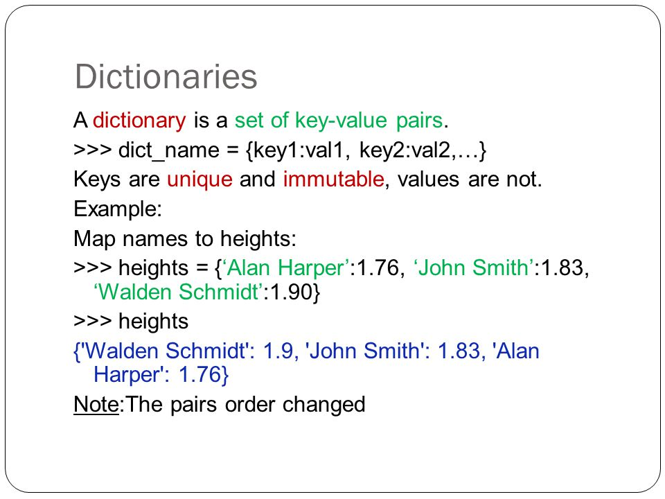 how to call a key in a dictionary python