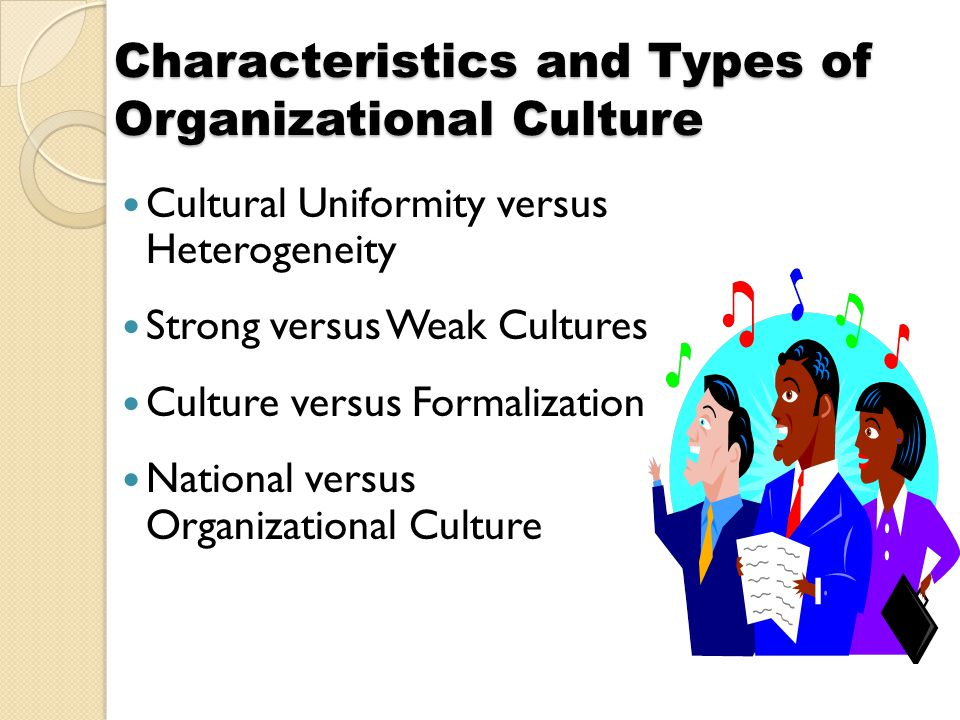 national cultural characteristics Culture: an introduction notes indian culture and heritage secondary course 5 module - i understanding culture 14 general characteristics of culture.
