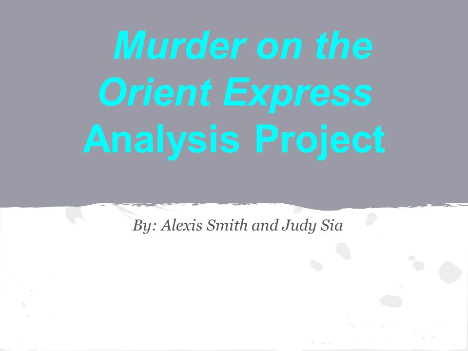 murder analysis 1 murder/shooting analysis 2013 the fbi uniform crime reporting program (ucr) establishes all guidelines and procedures for the submission of crime data.