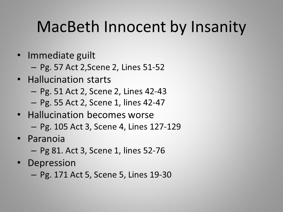macbeth act 2 scene 2 lines A summary of act 2, scenes 3–4 in william shakespeare's macbeth learn exactly what happened in this chapter, scene, or section of macbeth and what it means.
