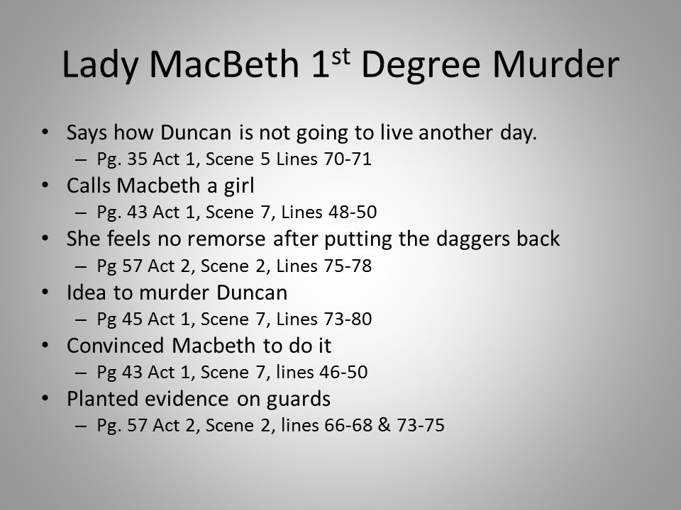 guilty and insanity macbeth Tennis coach's killer not guilty by reason of insanity scarface's 'murder by reason of insanity - whosampled murder - by reason of insanity season 8 episode 4 cast and plot information lady macbeth's insanity functions as a contrast to macbeth's, and it shows the effect of.