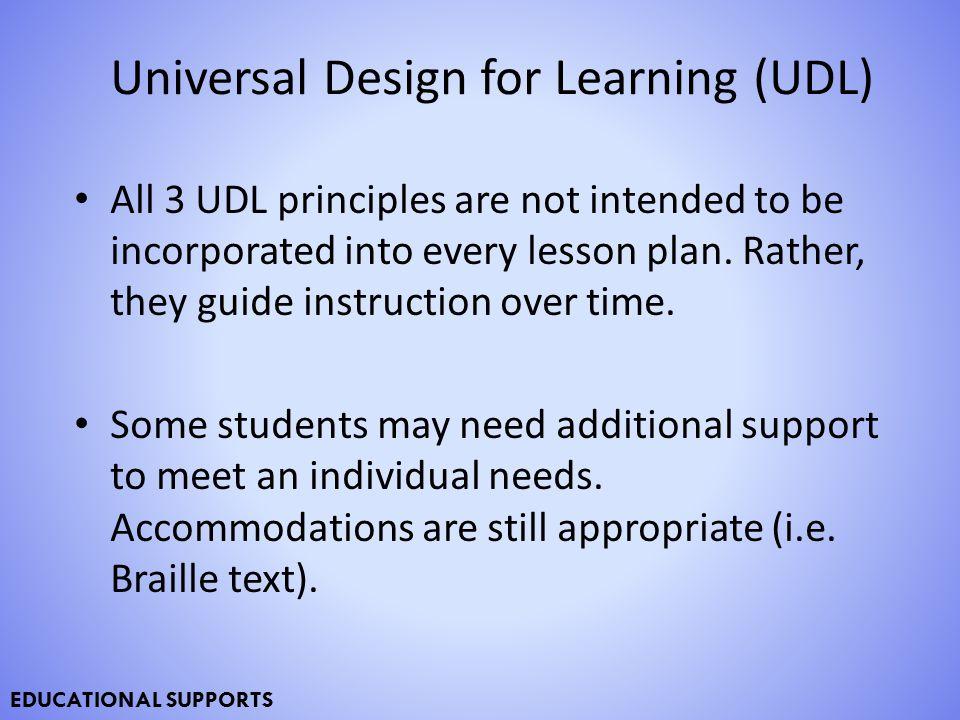 Universal Design For Learning Udl Ppt Download