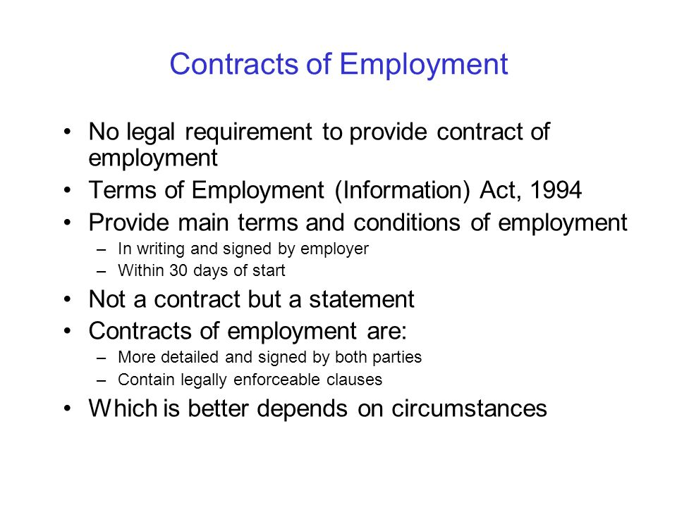 Hodson bay hotel athlone ppt video online download for Statement of terms and conditions of employment template