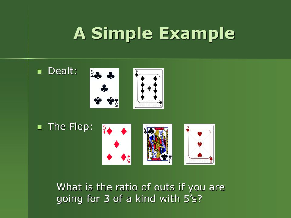 The mathematics of poker free download