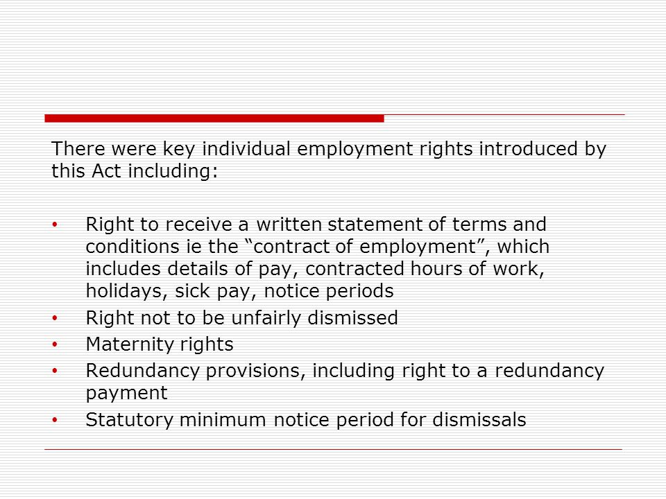 individual employment rights The individual employment rights primer [kurt h decker] on amazoncom free shipping on qualifying offers a guide to employment law.