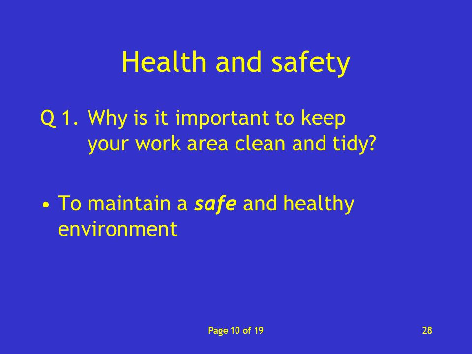 a clean and healthy environment is Environmental health and safety our new constitution says that everyone has the right to a safe and healthy environment a clean environment.