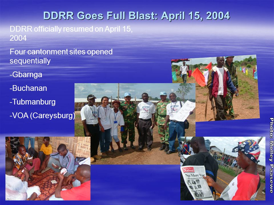 DDRR Goes Full Blast: April 15, 2004