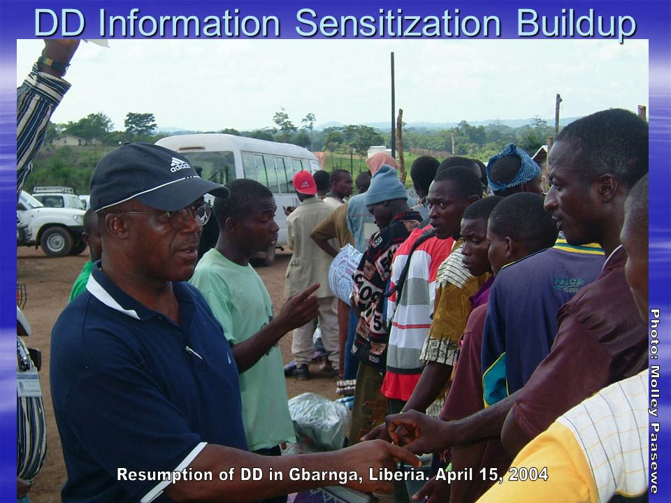 DD Information Sensitization Buildup