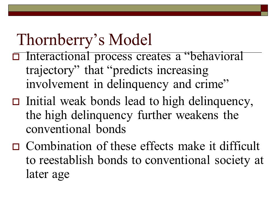 Celebrity trajectory theory delinquency