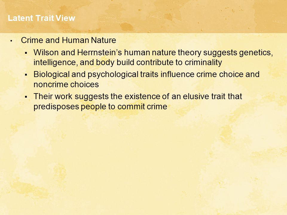 crime in human nature L to sensitize the participants to the effects that crime and human rights violations  may  of the convention although it might be of such a nature to facilitate the.