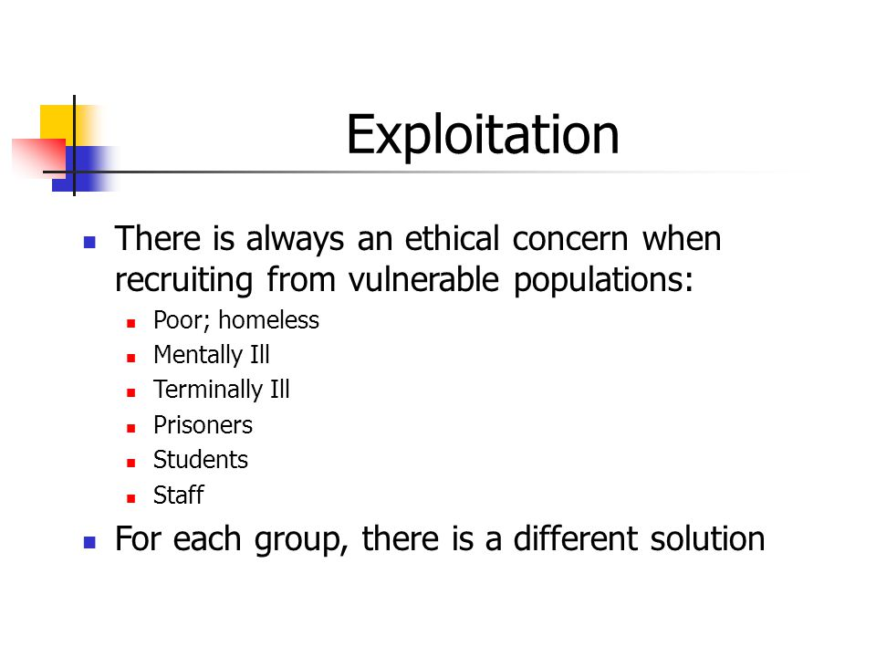 vulnerable populations 3 essay Read vulnerable population essays and research papers  essay instructions: vulnerable populations  3- experience with vulnerable groups is discussed.