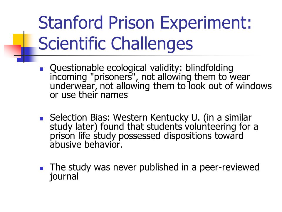 stanford prison experiment ethics essay On the ethics of intervention in human psychological i recently was asked to give a lecture on the stanford prison experiment to an undergraduate course.