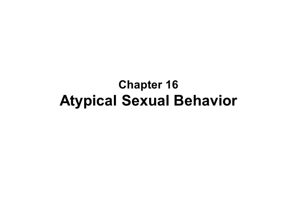 human sexual behavior and sexual abuse