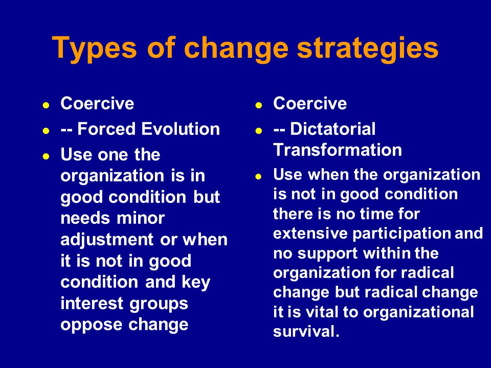 supporting change within organisations Investigation into change within an organizational setting reveals a three-stage process of unfreezing, change and refreezing unfreezing is the first stage of the change process and consist of unlearning past behavior.