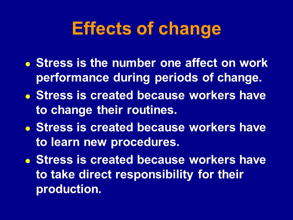 effect of stress on job performance Occupational stress is stress  and equally dispersed responsibilities provides a positive effect on stress reduction, improved work performance, job.