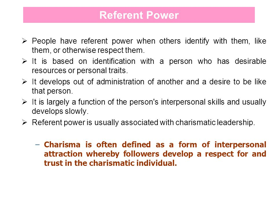 referent electric power definition
