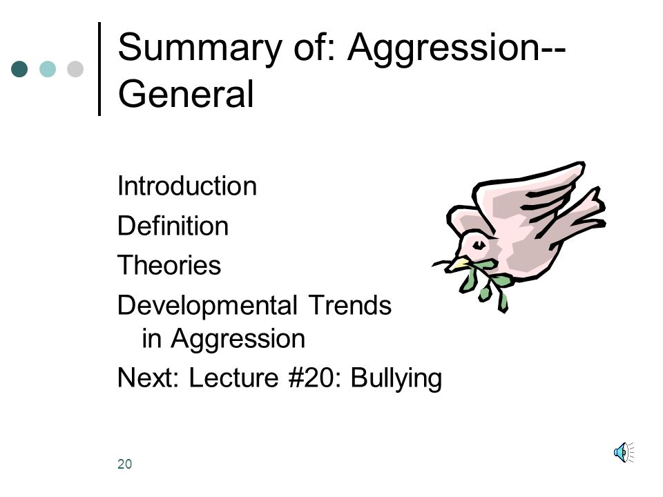 a brief summary of the theoretical development of aggression Skinner coined the term operant conditioning and believed children's behavior and learning can be child development theory topics and a brief summary for.