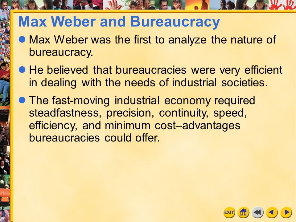 Max Weber and Bureaucracy
