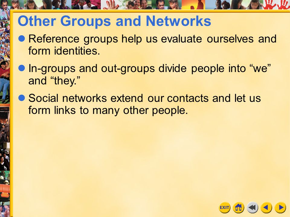 Other Groups and Networks