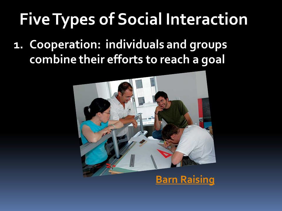 Five Types of Social Interaction