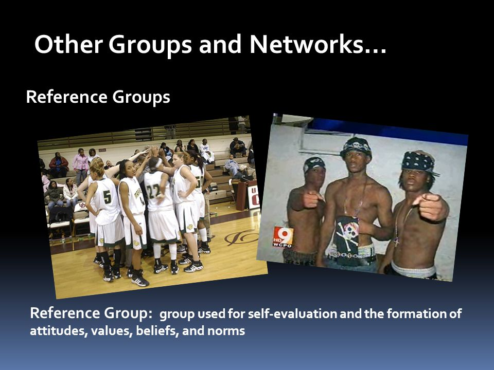 Other Groups and Networks…