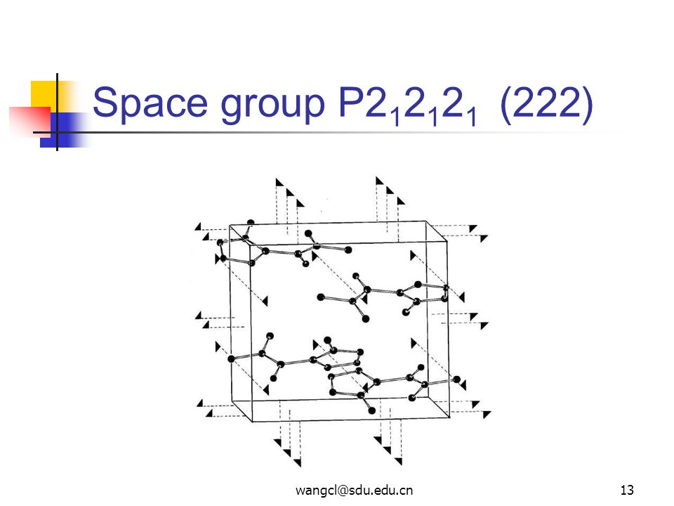 Space group P (222)