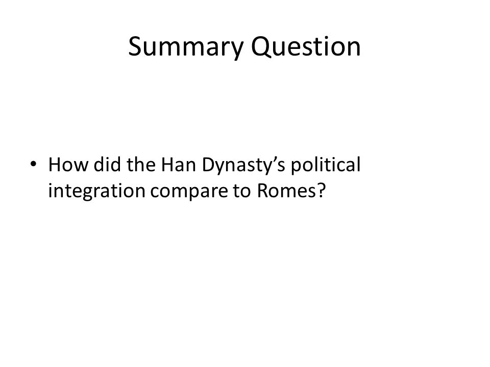 political control in han china and Get an answer for 'what are the differences and similarities between china's han dynasty and india's mauryan dynasty in terms of politics, society, culture, geography, and religion' and find.