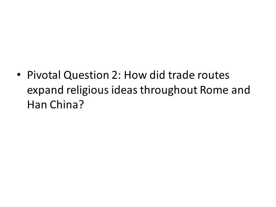 rome and han china essay Comparative essay: roman and han empires essaysgovernment, economy, and religion varied from civilization to civilization such as the roman empire because roman trade was all over the mediterranean world including arabia, india, and china, it is evident that items such as pottery, silk, and precious gems like.