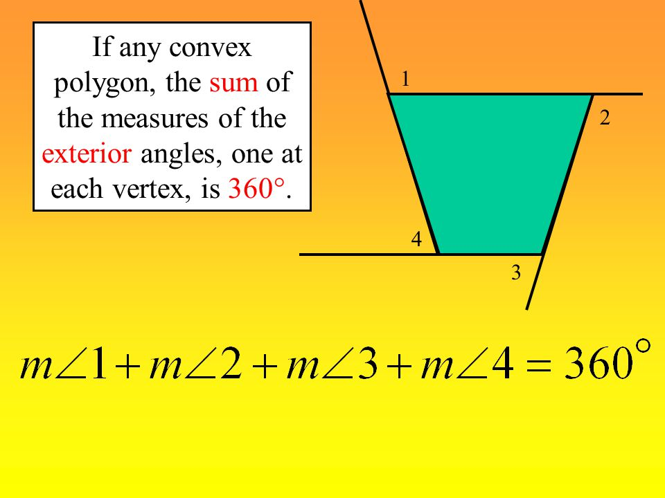 Naming polygons ppt video online download - Sum of exterior angles of polygon ...
