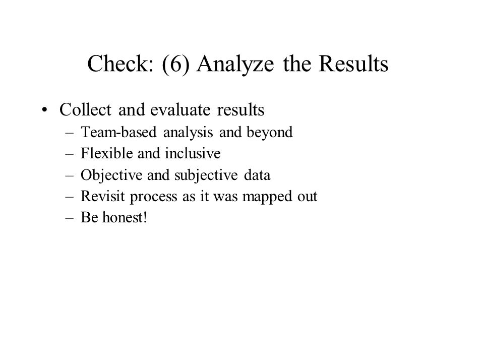 a discussion of analyze and evaluate Learn about analyzing, interpreting and reporting basic research results in this topic from the free management library analyzing quantitative and qualitative data is often the topic of advanced research and evaluation methods if you are conducting a performance improvement study.