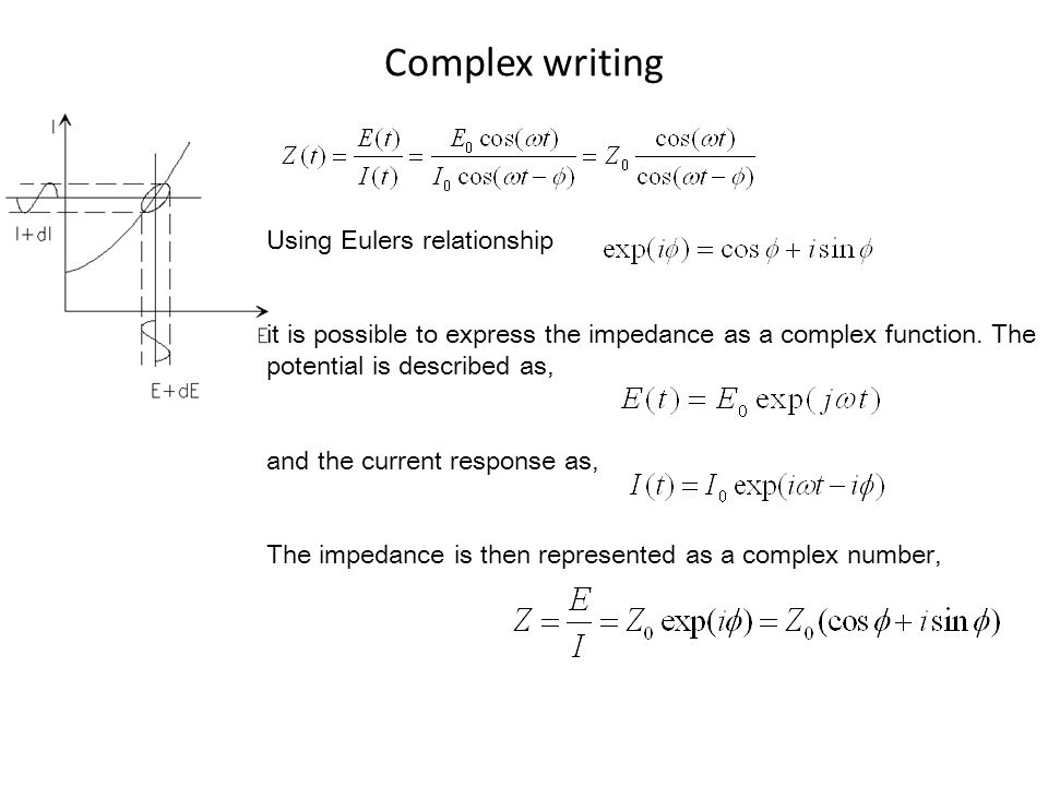 Complex writing Using Eulers relationship