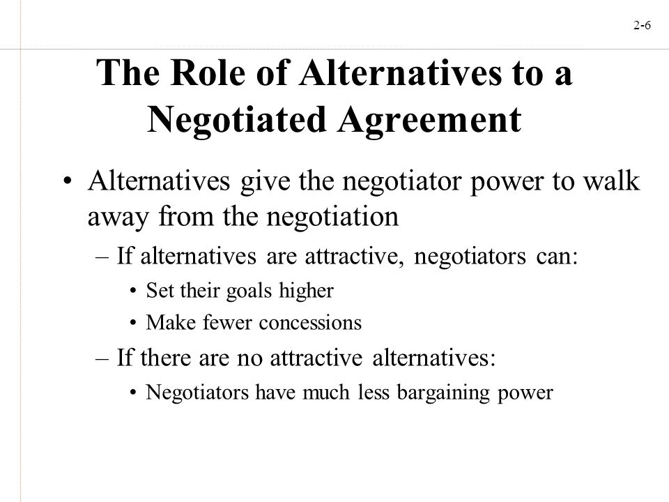 the role of power in negotiation Conflict and negotiation are aspects of running a business  lower purchasing power often drives business owners to create the best situations for saving their company money while improving .