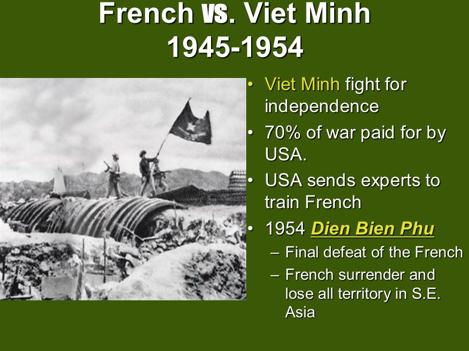 a narrative of the defeat of the french by the viet minh Professor donald stoker gave a lecture in his 'strategy and war' course at the  us naval war college in monterey, california.