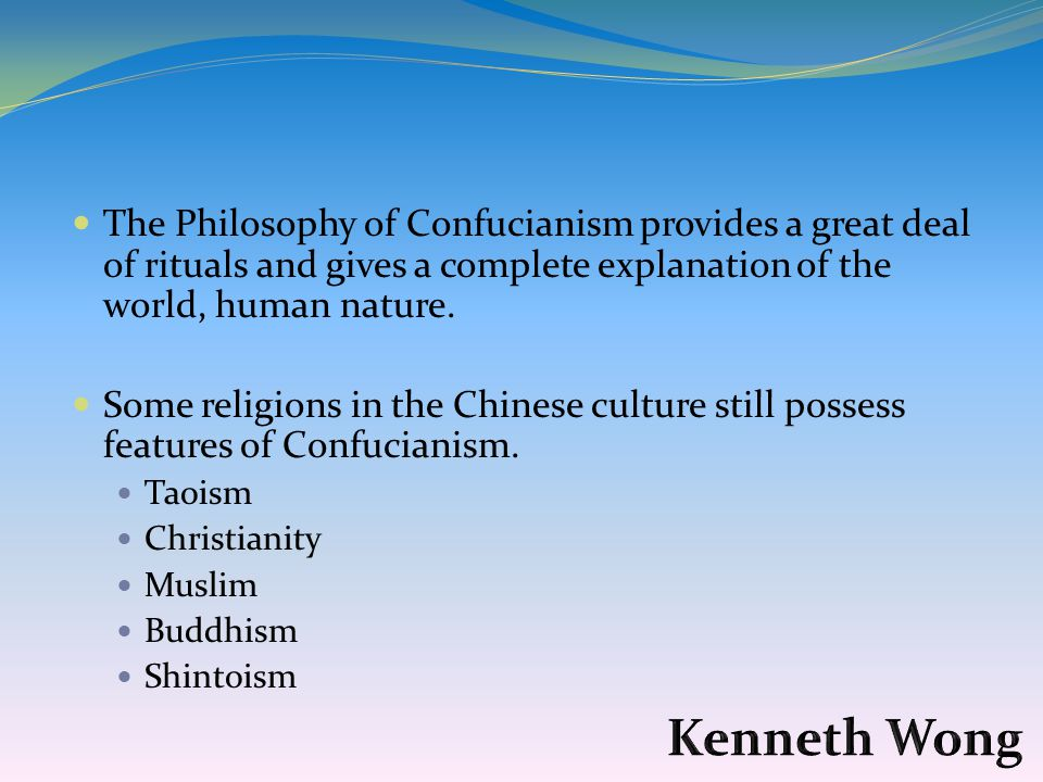 a comparison of taoism and confucianism in chinese culture • influenced chinese political & cultural traditions confucianism to reflect a concern comparison / contrasts.