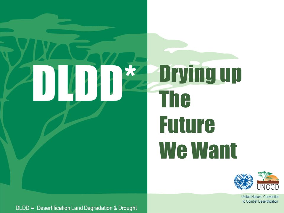 Drying up The Future We Want