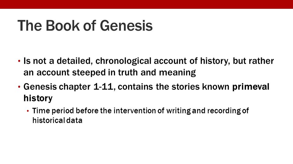 genesis 1 1 11 the primeval history Genesis 1-11, primeval history, genesis, biblical chronology from adam to abraham: an update on the genesis 5 and 11 research project: december 16, 2017 the goal of this article is to update the abr community of supporters and other interested readers on the present state of the genesis 5 and 11 research project.
