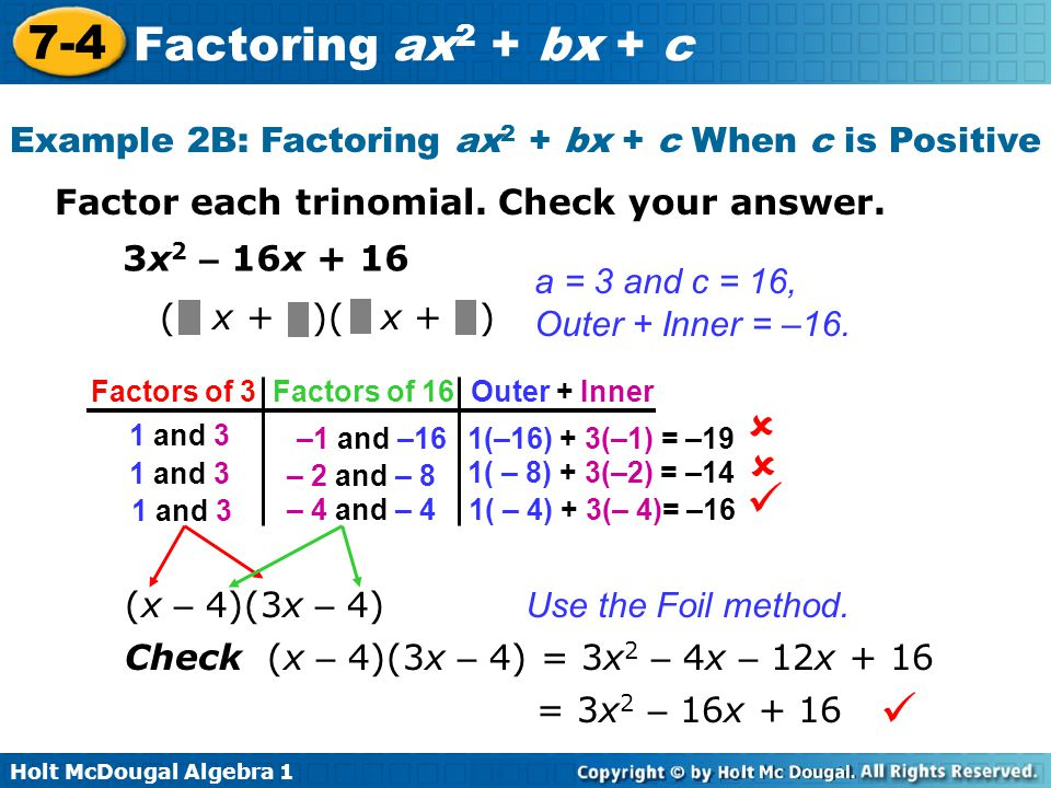 factoring trinomials x2 bx c worksheet answers kidz activities. Black Bedroom Furniture Sets. Home Design Ideas