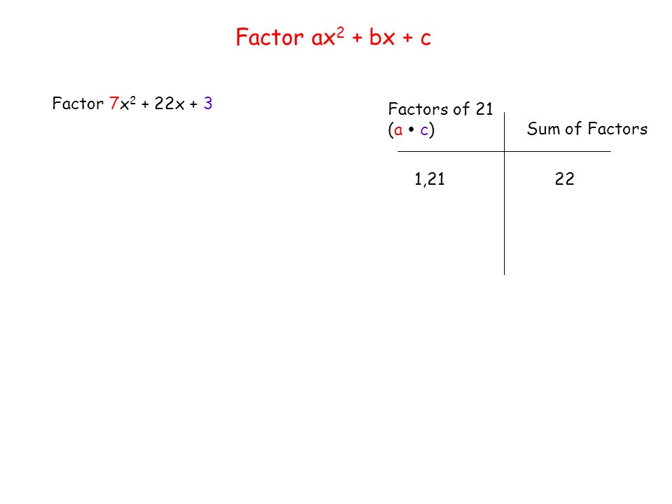 factoring trinomials of the form ax2 bx c worksheet Worksheets – Factoring Trinomial Worksheet